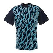 ショートスリーブモックネックシャツ 923983-02