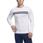 ゴルフ スリーストライプス クルーネックセーター INS55-FS6902W