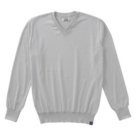 【多少の傷汚れありの為大奉仕】ゴルフウェア メンズ 撥水Vネックセーター PGMFT1803 GRY