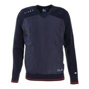 ゴルフウエア セーター メンズ 秋冬 Vネックニット FD5JTJ07 NVY