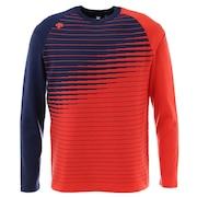 ウール混ライジング切り替えセーター DGMQJL02-OR00