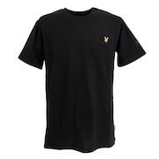 ゴルフウェア メンズ 半袖Tシャツ LSM-9C-AA01-BLACK