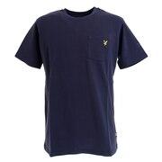 ゴルフウェア メンズ 半袖Tシャツ LSM-9C-AA01-NAVY