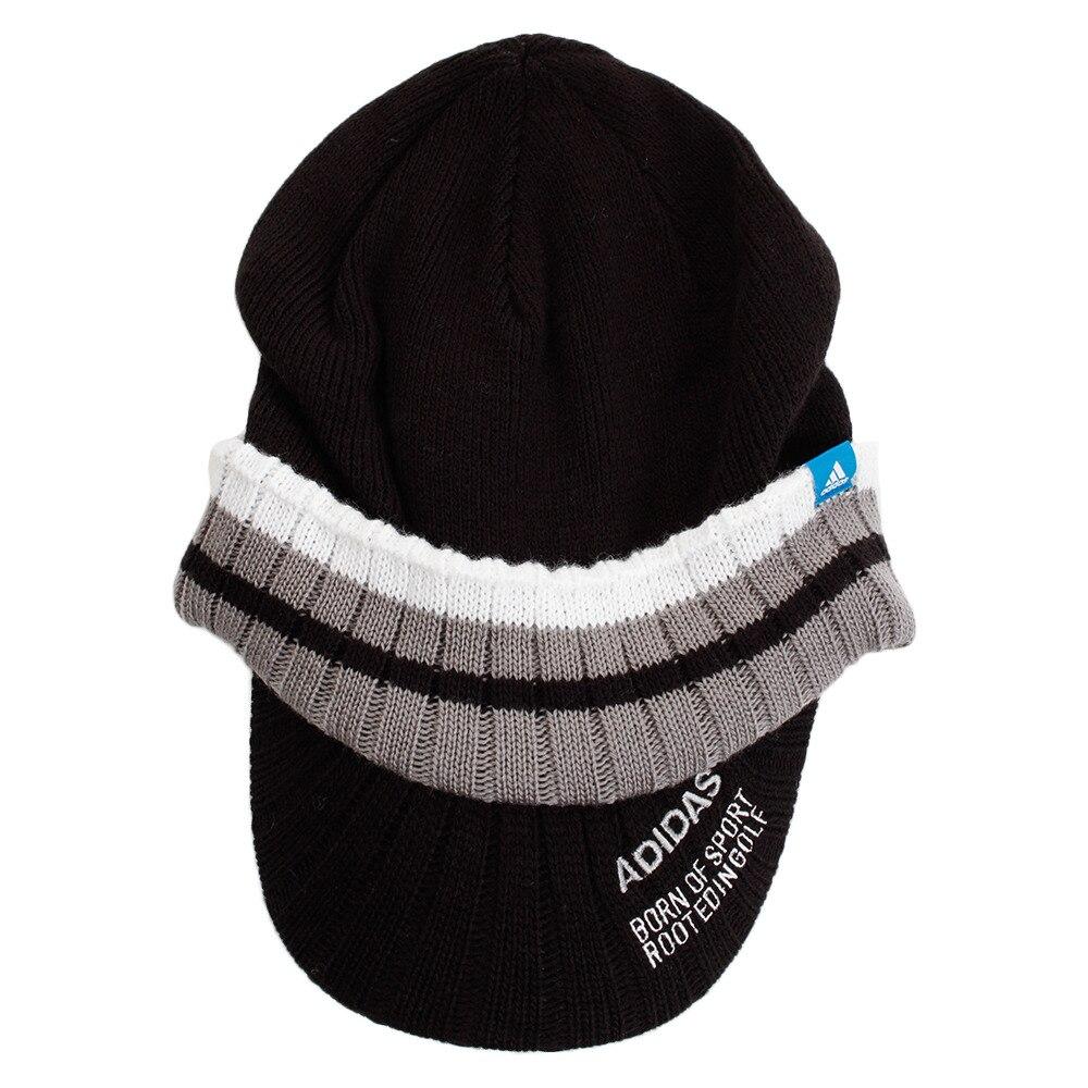 帽 adidas ニット