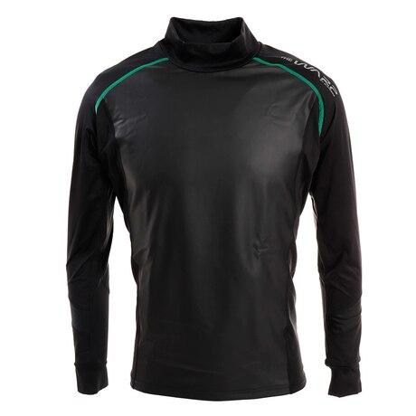防風インナーハイネックシャツ WB5GTB71 BLK