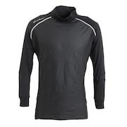 防風アンダーハイネックシャツ 404TA21HD0010-BLK