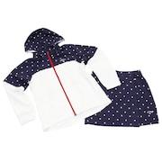レインウエア レインスーツ ゴルフウェア 4WAYセットアップ 241-9988802-120 (B) 収納袋付