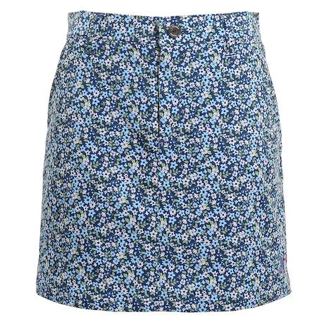 小花柄スカート CL5HUP04 NVY