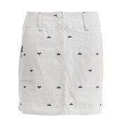 ゴルフ コードレーン とび柄刺しゅう スカート 750312-GY