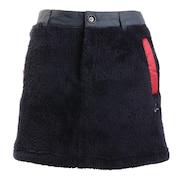 ボア×ナイロンタフタ切替スカート 012-73041-098