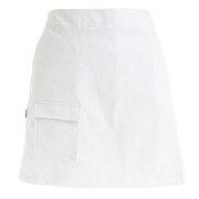 ロゴタイポグラフィ ストレッチツイル スカート 012-1134506-030