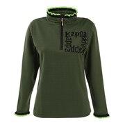 ハーフジップ 長袖シャツ KC962LS71 BK