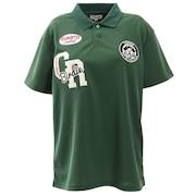ゴルフウエア レディース 刺繍 半袖ポロシャツ M3131-Unisex-GRE