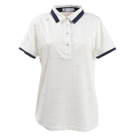 ゴルフウエア レディース エンボス柄ポロシャツ 152-22341-004