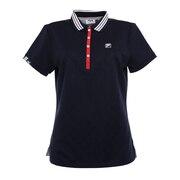 ゴルフ 前立てスナップボタン 半袖ポロシャツ 750600-NV