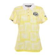ゴルフ リゾートフォト柄 半袖シャツ 750610-YL