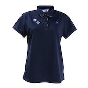 鹿の子王冠デザイン半袖シャツ MGWPJA15-NV00