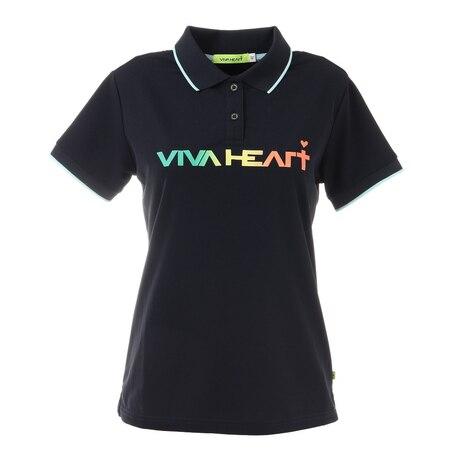UVカット ロゴカノコ 半袖ポロシャツ 012-24340-098