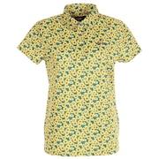 ボタニカル 総柄 半袖 ポロシャツ 622-1260001-060