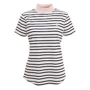 ストライプモックネックシャツ FJW-S21-S07 86900