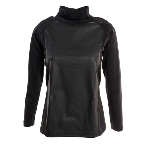 防風インナーハイネックシャツ WB5GUB74 BLK