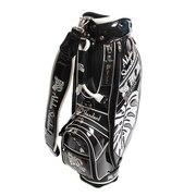 ゴルフ キャディバッグ メンズ  ASCB-704 Black Limited