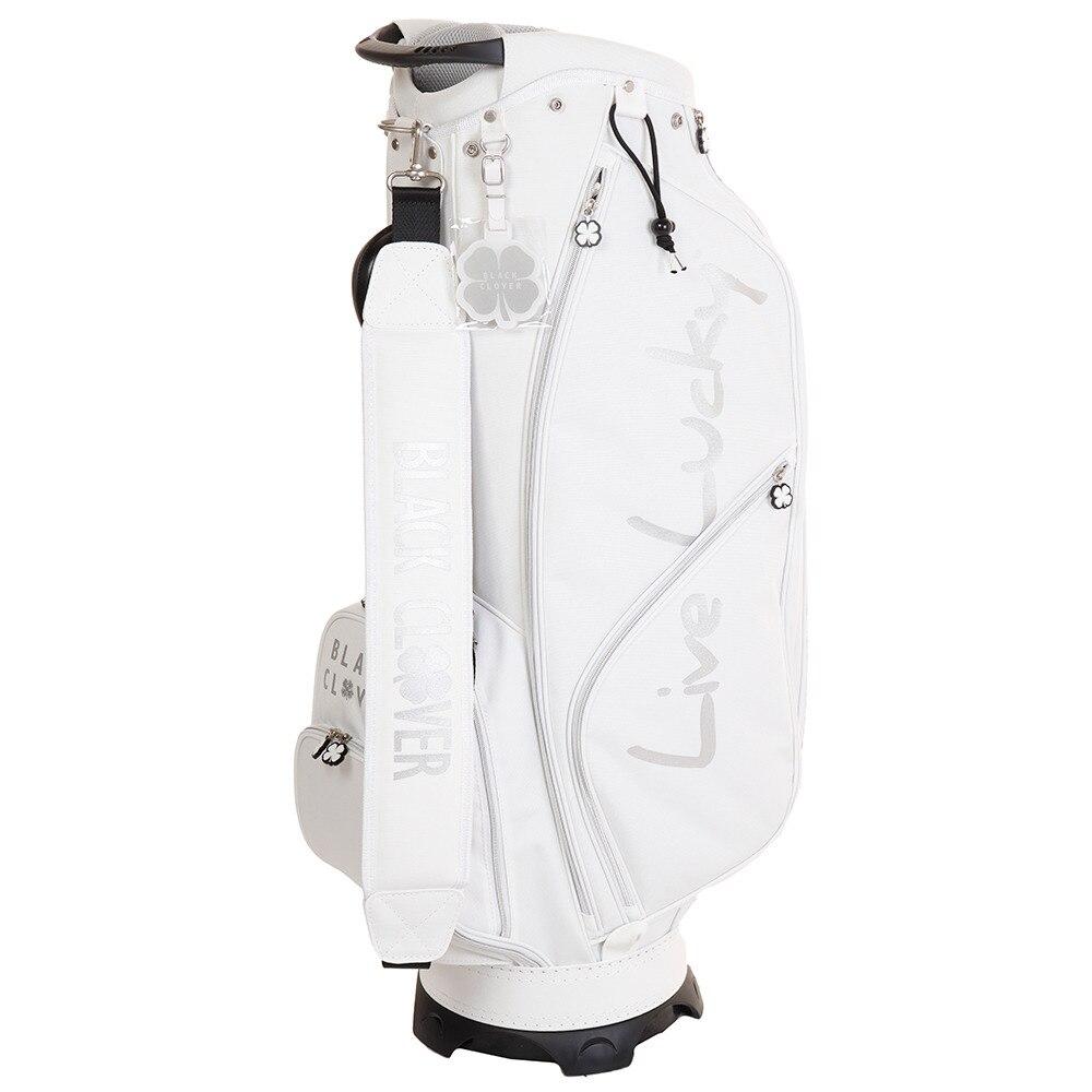 ゴルフ キャディバッグ メンズ 9.0型キャディーバッグ BC5HNC01 WHT