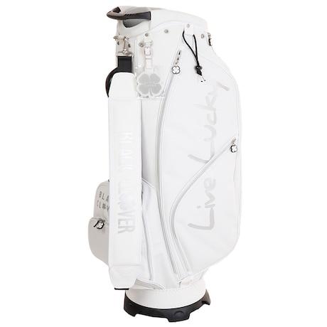 ゴルフ キャディバッグ メンズ 9.0型キャディーバッグ BC5HNC01 WHT 軽量