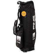 ゴルフ キャディバッグ メンズ CB-P201 BK 35076