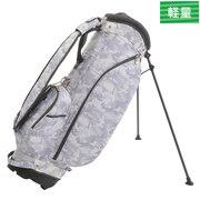 ゴルフ キャディバッグ メンズ スタンド式 TCCB-011 WHT 軽量