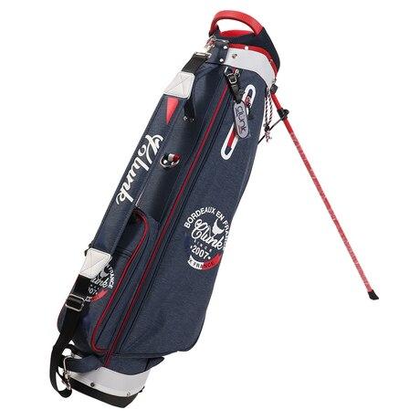 ゴルフ キャディバッグ メンズ 7.0型キャディーバッグ CL5HNC03 NVY 軽量