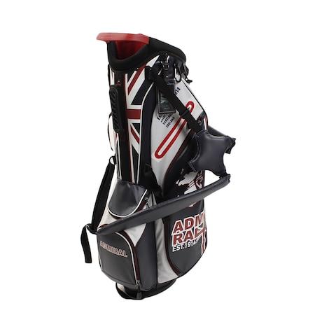 ゴルフ キャディバッグ メンズ ライトウェイト スタンドバッグ ADMG9SC8-TRI 軽量