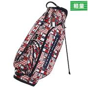 ゴルフ キャディバック メンズ MULTI FLAG キャディーバッグ THMG9FCZ-TRI 付属品:JR