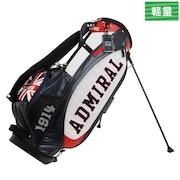 ゴルフ キャディバッグ メンズ 3Dニット スタンド式キャディバッグ ADMG0SC9-RED