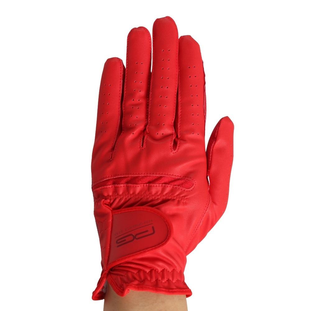 ピージー 左手用 カラーテックグローブ PGKSC0T1401.RED