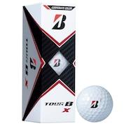 ゴルフボール TOUR B X CO ホワイト コーポレートカラー 3個入り  B0CXJ