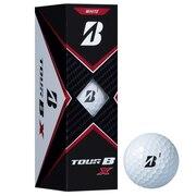 ゴルフボール TOUR B X ホワイト 3個入り B0WXJ