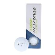ゴルフボール ツアーレスポンス ボール 1スリーブ Tour response WH