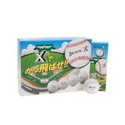 X2 かっ飛ばせボール 12個 WH BAT 20SS