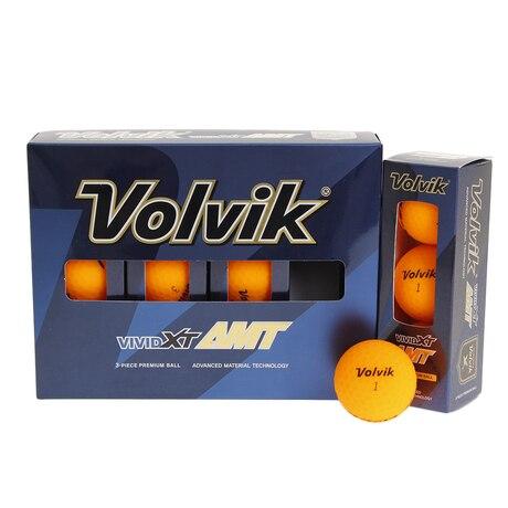 ゴルフボール VIVID XT AMT オレンジ  1ダース