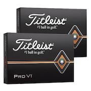 3ダースセット ゴルフボール タイトリスト PRO V1 19 ローナンバー T2026S-3PJ