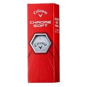 ボール クロムソフト CHROME SOFT  ホワイト 3個入り