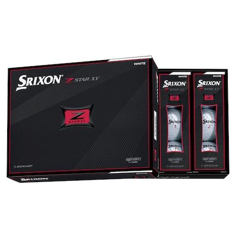 ゴルフボール メンズ スリクソン Z-STAR XV7 1ダース(12個)ホワイト