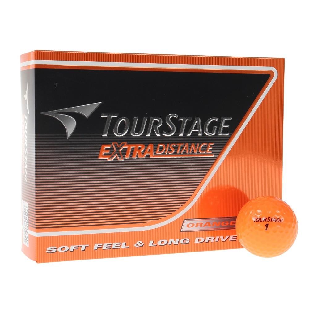 ツアーステージ ゴルフボール  エクストラディスタンス オレンジ (1ダース 12個) オンライン価格