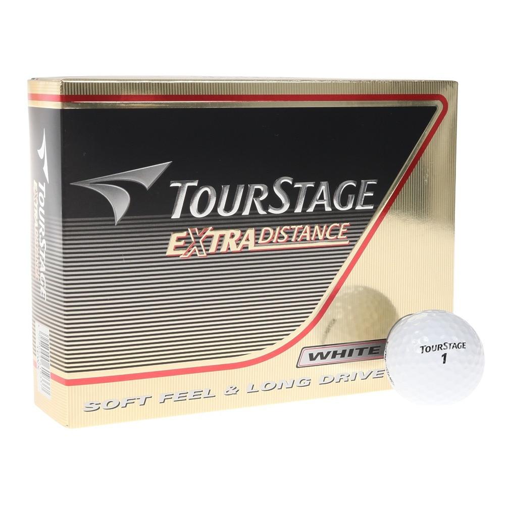 ツアーステージ ゴルフボール  エクストラディスタンス ホワイト (1ダース 12個) オンライン価格