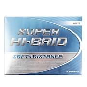 ゴルフボール  スーパーハイブリッド SUPER HI-BRID ホワイト 1ダース(12個)