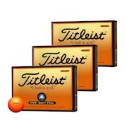 ゴルフボール HVCソフトフィール 3ダースセット オレンジ 送料無料