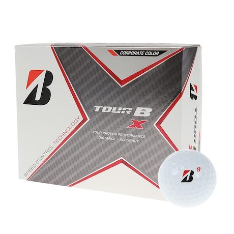ゴルフボール TOUR B X CO ホワイト コーポレートカラー 1ダース(12球入り)
