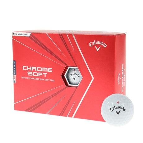 ボール クロムソフト CHROME SOFT ホワイト 1ダース(12球入り)