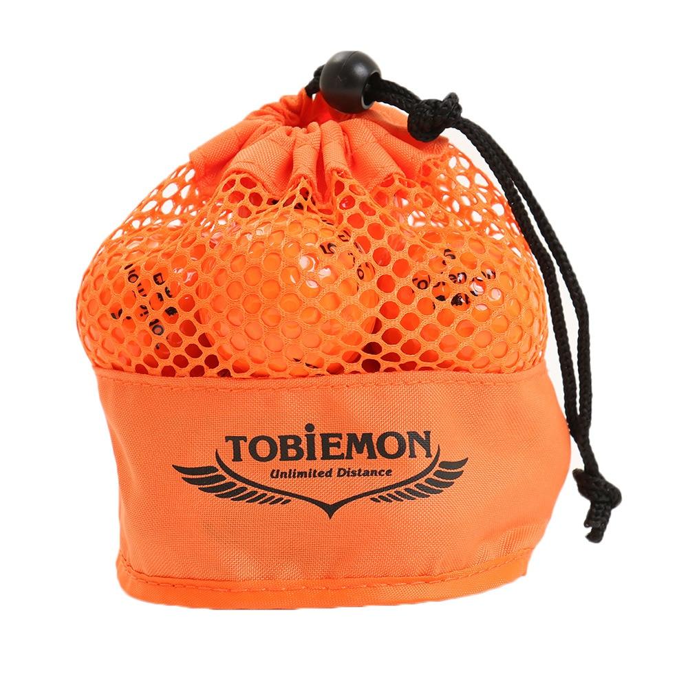 トビエモン ゴルフボール  TOBIEMON(トビエモン) メッシュバッグ入り オレンジ 12球入り TBM-2MBO